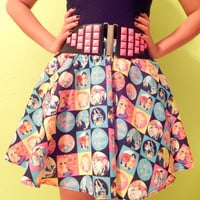 Colorful Retro Barbie Skirt - Made to Order