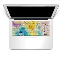 macbook keyboard decal /mac keyboard cover sticker/ keyboard skin decal iMac decal laptop macbook decal skin protector