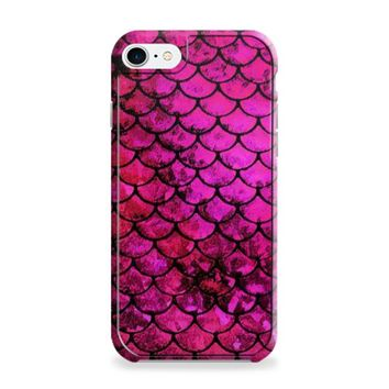 Pink Mermaid Fish Scale iPhone 6 | iPhone 6S Case