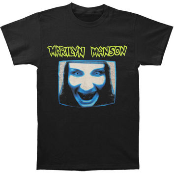 Marilyn Manson Men's  MMTV T-shirt Black Rockabilia