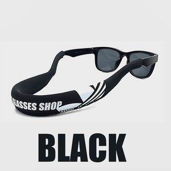 Swimming Pool beach Floating Elasticity Glasses Chains For Diving Swimming Sunglasses Chains Eyeglasses Eyewear Chain Glasses Holder Cord StringSwimming Pool beach KO_14_1