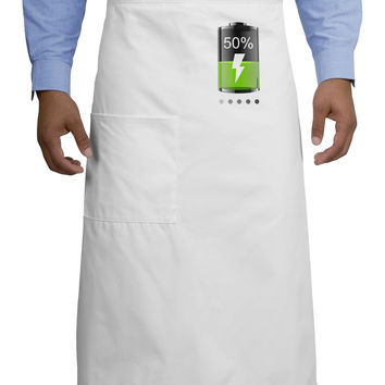 Half Energy 50 Percent Adult Bistro Apron