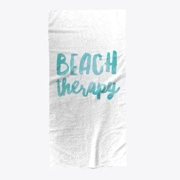 Beach Therapy Summer Hot Towel