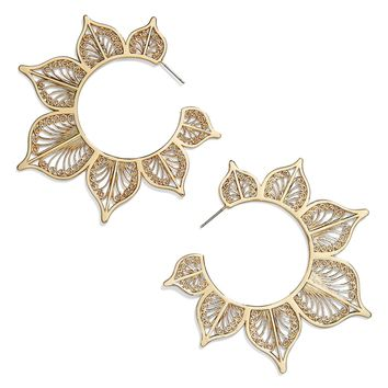 BaubleBar Autumn Hoop Earrings | Nordstrom