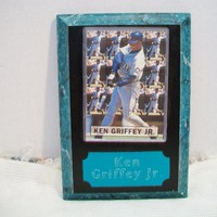 eBlueJay: Ken Griffey Jr Card Plaque Wall Decor Baseball Collectible