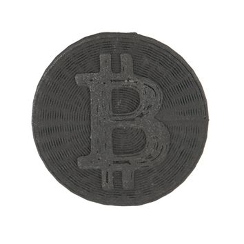 3D Printed Bitcoin Pin