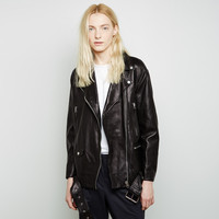 More Lightweight Leather Jacket by Acne Studios