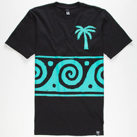 Blvd Ocean 2 Mens T-Shirt Black  In Sizes
