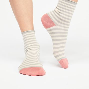 Printed Silky 3 Pack Sock Set