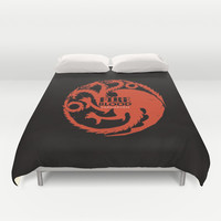 Game of Thrones - Targaryen - fan art Duvet Cover by AnnaCas