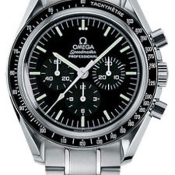 Omega - Speedmaster Moonwatch Professional 42 mm - Stainless Steel - Transparent Back