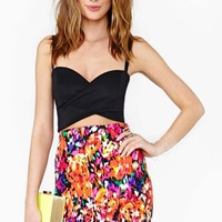 Electric Bloom Skirt