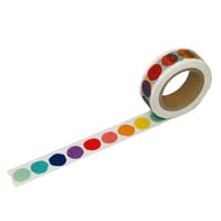 Beve! Rainbow Dot Washi Tape