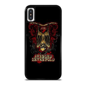 AX7 AVENGED SEVENFOLD iPhone X Case Cover