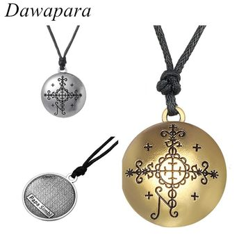 Dawapara Supernatural Voodoo Pendants Necklaces Huddi Amulet and Talisman Jewelry Hoodoo Charms for Men and Women Best Gifts