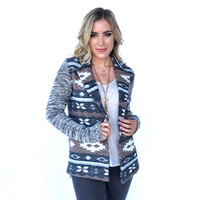 Always Thankful Tribal Wool Cardigan