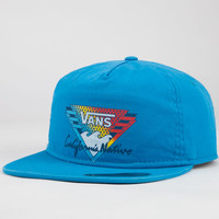 Vans California Angeles Mens Snapback Hat Sky Blue One Size For Men 22912022301