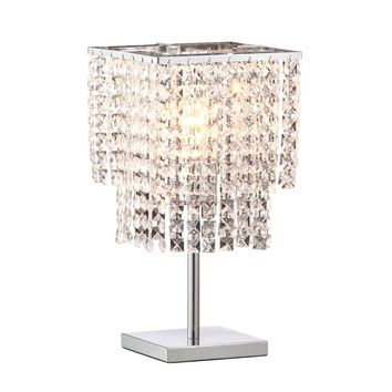 Falling Stars Table Lamp Chrome