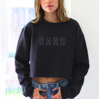 Oahu Cropped Sweater