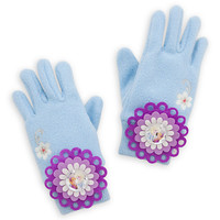 Anna and Elsa Knit Gloves for Girls - Frozen