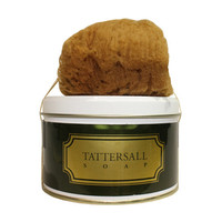 Tattersall Soap with Natural Sponge | Dover Saddlery