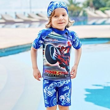 Kids Bathing Suit Child Swimwear Children's Swimwear Kids Swimming Suit 2018 New Boy Children Swimsuit Swimsuit 5820 Animal