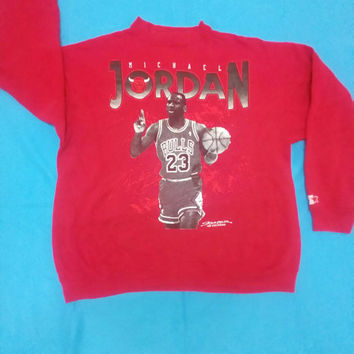 Michael Jordan Legend Bulls sweatshirt long sleeve vintage