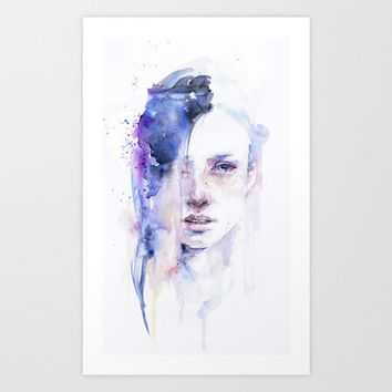 the water workshop I Art Print by Agnes-cecile