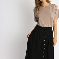 Park Avenue Flared Skirt | Ruche