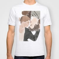 The Fault in Our Stars-Augustus and Hazel T-shirt by Anthony Londer
