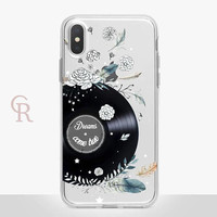 Inspirational Clear Phone Case - Clear Case - For iPhone 8 - iPhone X - iPhone 7 Plus - iPhone 6 - iPhone 6S - iPhone SE Transparent Samsung