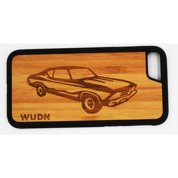 Slim Wooden Phone Case | Chevy Chevelle '69