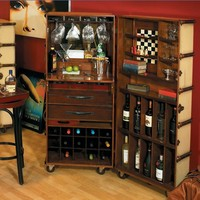 Ivory Stateroom Bar - Furniture - Category - PoshLiving