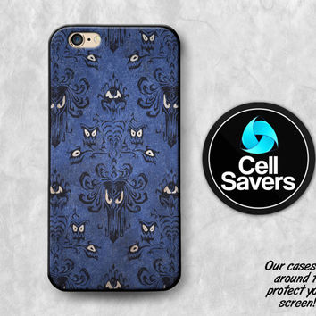 Haunted Mansion iPhone 6s Case iPhone 6 iPhone 6 Plus iPhone 6s + iPhone 5c iPhone 5 iPhone SE Purple Haunted Mansion Pattern Wallpaper Cool