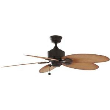 Hampton Bay Lillycrest 52 in. Indoor/Outdoor Aged Bronze Ceiling Fan 32711 at The Home Depot - Mobile