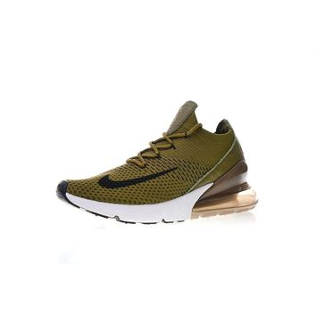 Nike Air Max 270 Flyknit Olive #AA7410-501