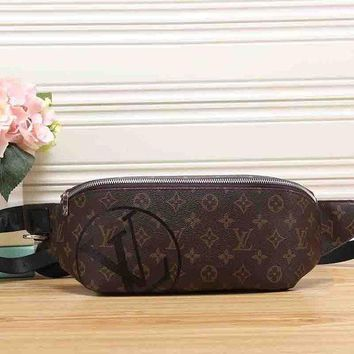 Louis Vuitton New Fashion Women Leather Purse Waist Bag Single-Shoulder Bag Crossbody