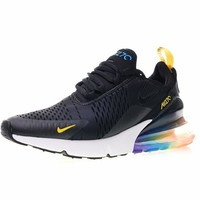 "Nike air max 270 betrue ""Black With Colorful"" Running Shoes AH8050-025"