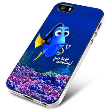 Finding Nemo (dory swimming tall) iPhone 5 | 5S | 5SE Case Planetscase.com