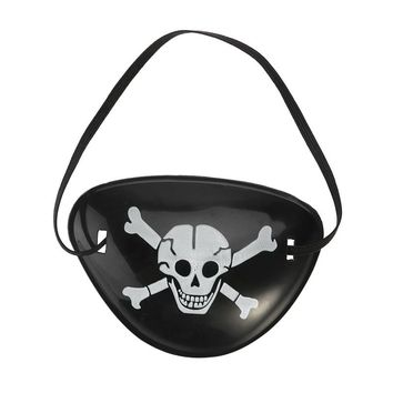 Pirate Eye Patches Party Favors Halloween Costume Skull Bones Skeleton Eyepatch (Random Color and Types)