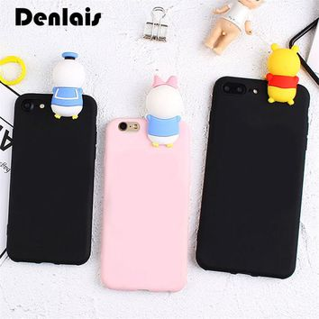 Fashion 3D Cute Mickey Minnie Mouse Donald Duck Case For Samsung Galaxy S4 S5 S6 S7 Edge S8 S9 Plus Note 3/4/5/8 Soft TPU Cases