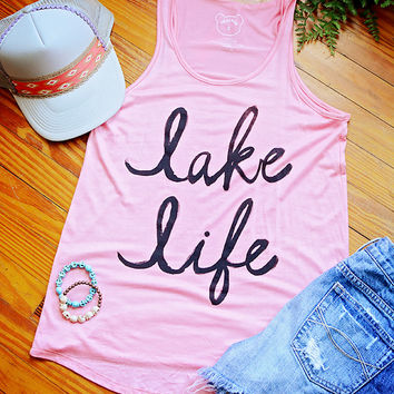 Lake Life Tank Rose From Cheeky Bliss Your New Favorites