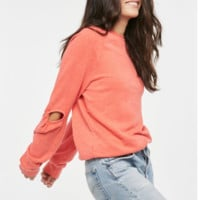 Rias Twist Sleeve Sweatshirt