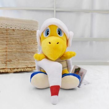 Super Mario party nes switch 18cm New  Bros  Troopa Tortoise Anime Plush Toys Soft Stuffed Doll Kids' Birthday Gifts   AT_80_8