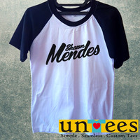 Shawn Mendes Short Raglan Sleeves T-shirt