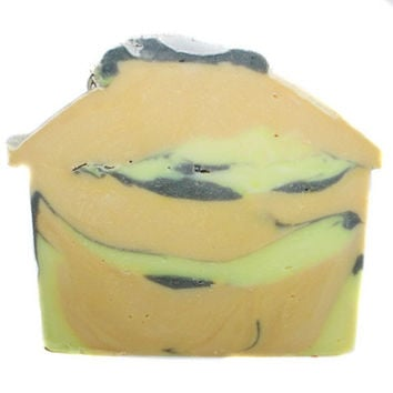 Black Linen Unisex Soap Bar