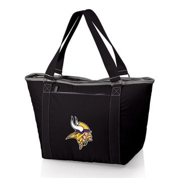 Minnesota Vikings Insulated Black Cooler Tote