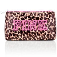 Large Makeup Bag - PINK - Victoria's Secret