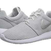 Nike Roshe Run White/Metallic Platinum - 6pm.com