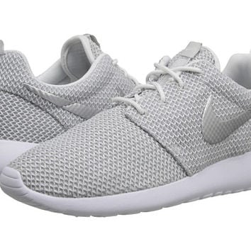 Nike Roshe Run White/Metallic Platinum - Zappos.com Free Shipping BOTH Ways